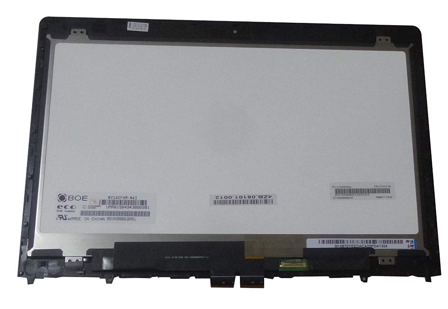 1920x1080 40pin For Lenovo ThinkPad Yoga 460 LCD Touch Screen Display Assembly