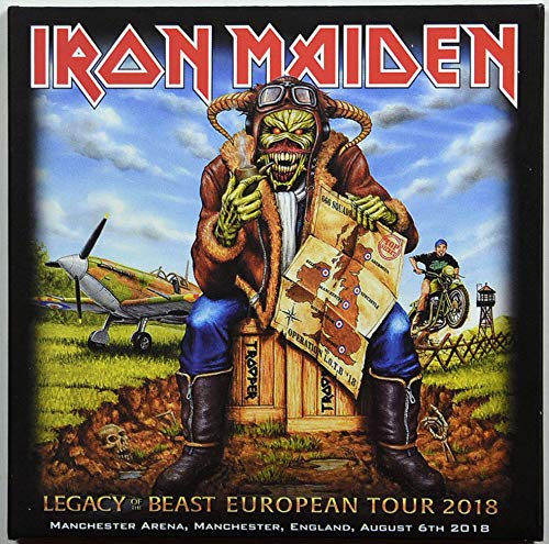 Iron Maiden LEGACY OF THE BEAST TOUR Manchester 2018 Live