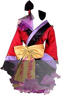 Vocaloid 2 PROJECT DIVA2 Luka Luxury Kimono Lolita cosplay costume