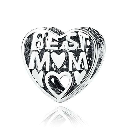 f648beac3 The Kiss Loving Mother I Love Mom Mother Center of My Heart Family 925  Sterling Silver