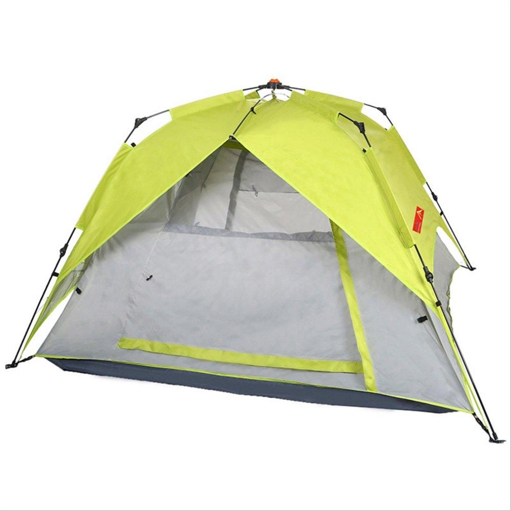 アウトドアキャンプテントスピニングオートテントの高品質のガラス繊維ロッド防風テントの無料建設 B07C1N7LF2, 砺波市:74a66105 --- ijpba.info