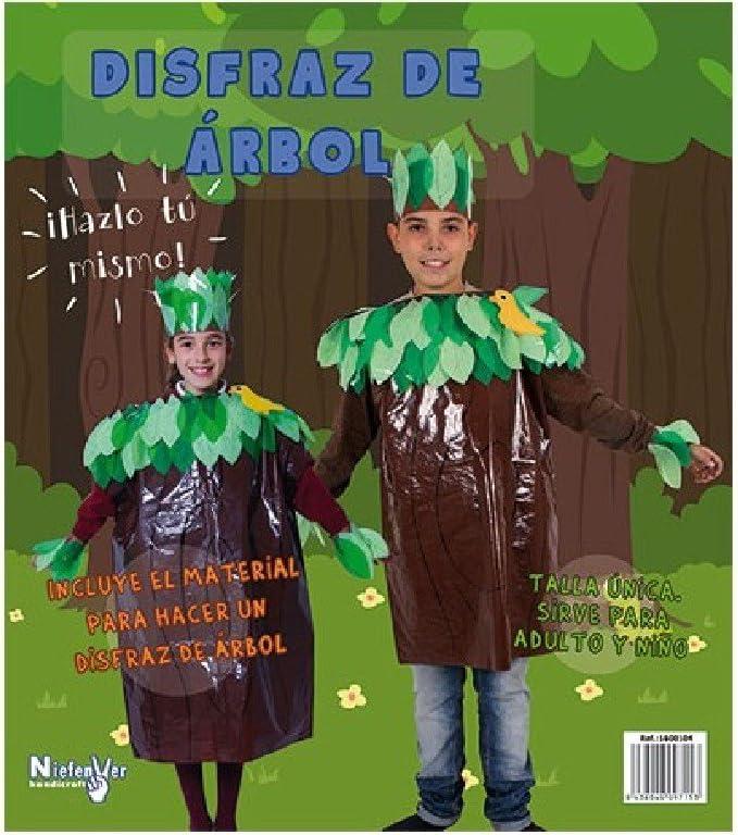 Niefenver 1600104 - Disfraz Bolsa Plástico Arbol Niefenver: Amazon ...
