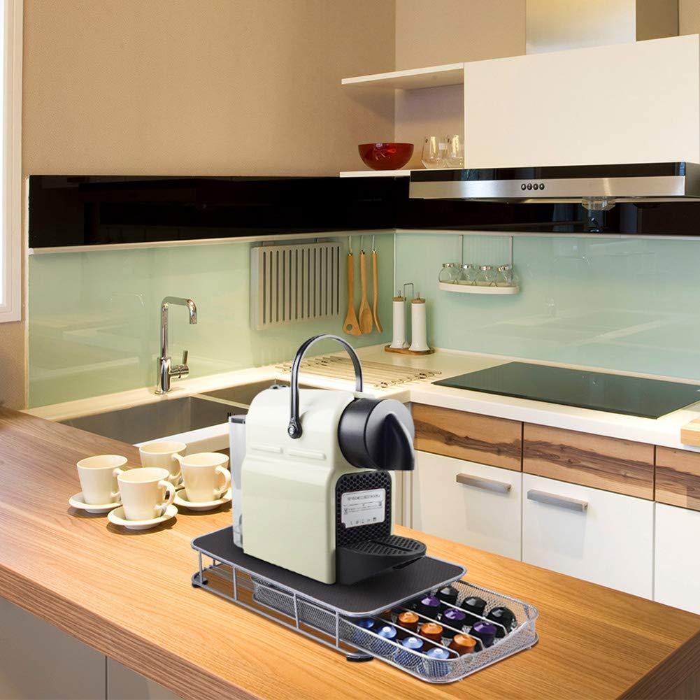 QXM Coffee Pod Cápsulas Soporte Cajón de Almacenamiento para ...