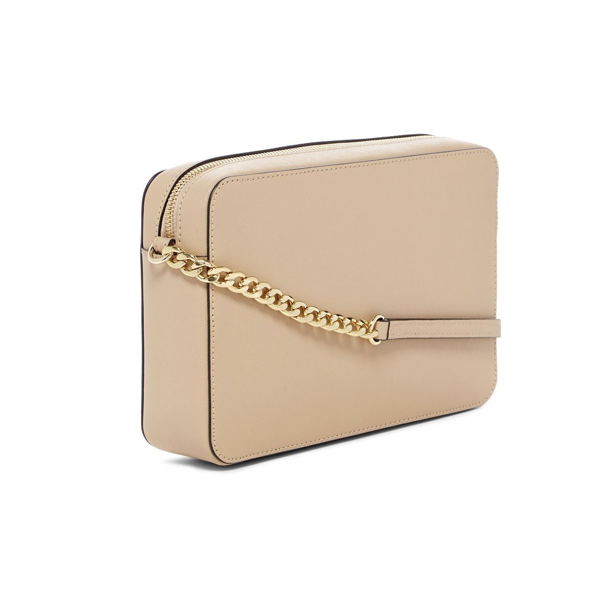 Michael Kors Oyster Leather Gold Peek a Boo Heart Large East West Crossbody by Michael Kors (Image #2)