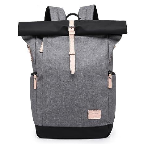 ynxing negocios mochila para portátil de la mochila bolso impermeable anti robo Camping mochila Colegio Bolsa