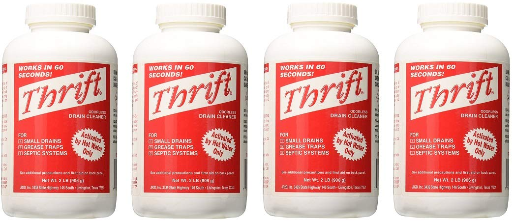 Thrift MARKETING GIDDS-TY-0400879 Drain Cleaner 2 lb (4-(Pack))