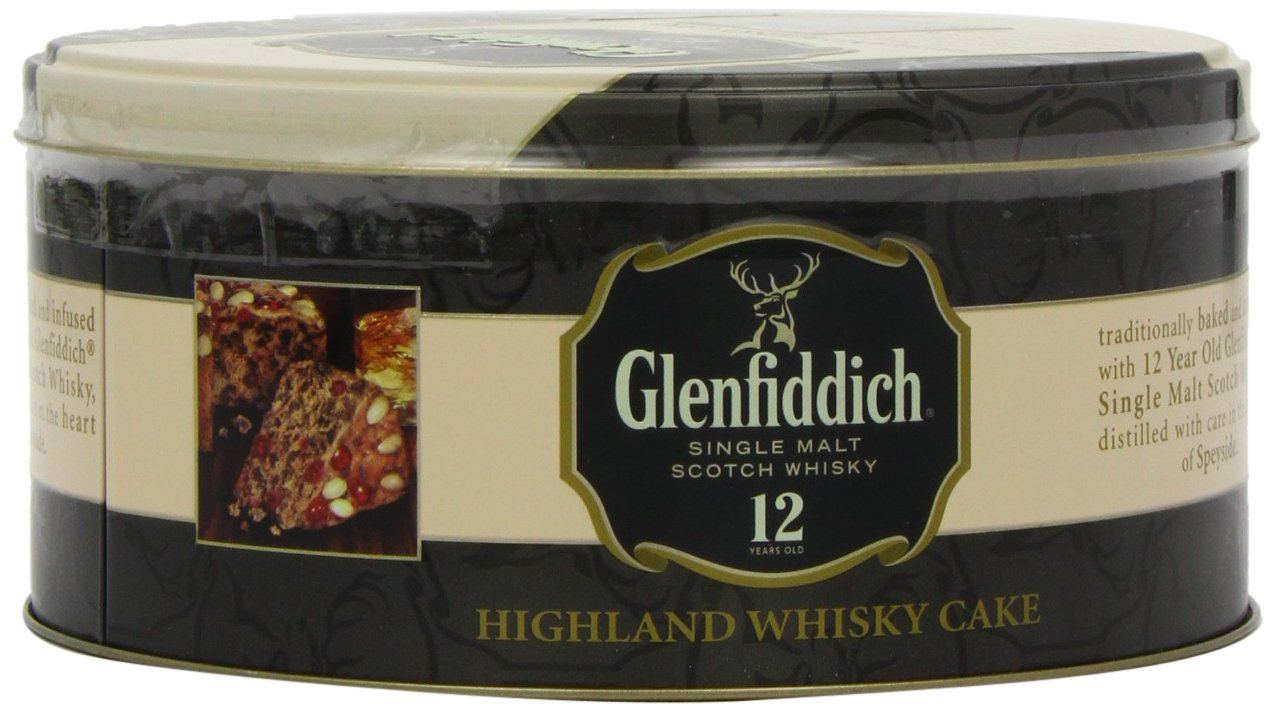 Walkers Shortbread Glenfiddich Highland Whisky Cake, 28.2 Ounce Tin Traditional Scottish Fruit Cake with Glenfiddich Malt Whisky, Cherries, Sultanas by Walkers Shortbread (Image #9)