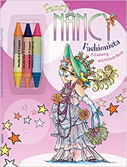 fancy nancy fashionista a coloring and activity book - Coloring And Activity Book