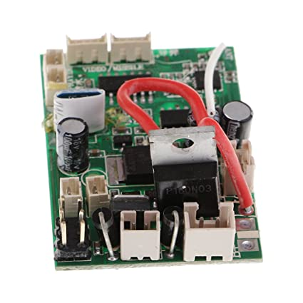 amazon com homyl 1x rc pcb receiver board for wltoys v912 v912 16