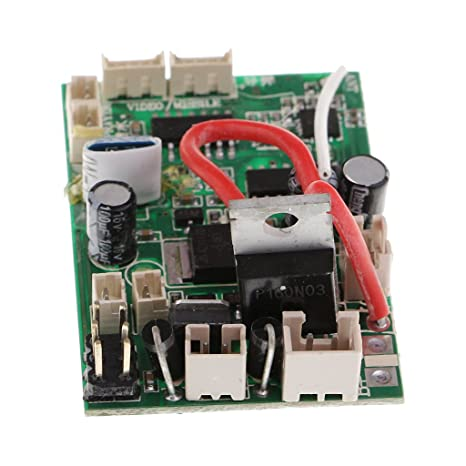 amazon com homyl 1x rc pcb receiver board for wltoys v912 v912 16 rh amazon com