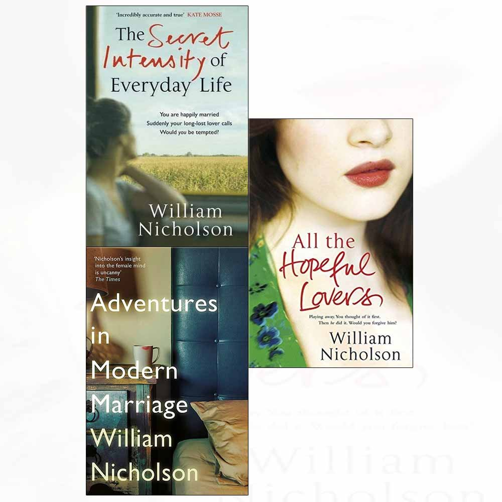Secret intensity of everyday life, adventures in modern marriage, all the hopeful lovers 3 books collection set pdf
