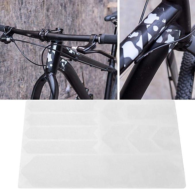 SolUptanisu Etiqueta Engomada de Protector de Cuadro de Bicicleta ...