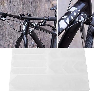 SolUptanisu Etiqueta Engomada de Protector de Cuadro de Bicicleta Resistente a los Arañazos Cubiertas de Cuadro de Bicicleta Adhesiva Estructural 3D Película Protectora Antideslizante Resistente(#3): Amazon.es: Deportes y aire libre