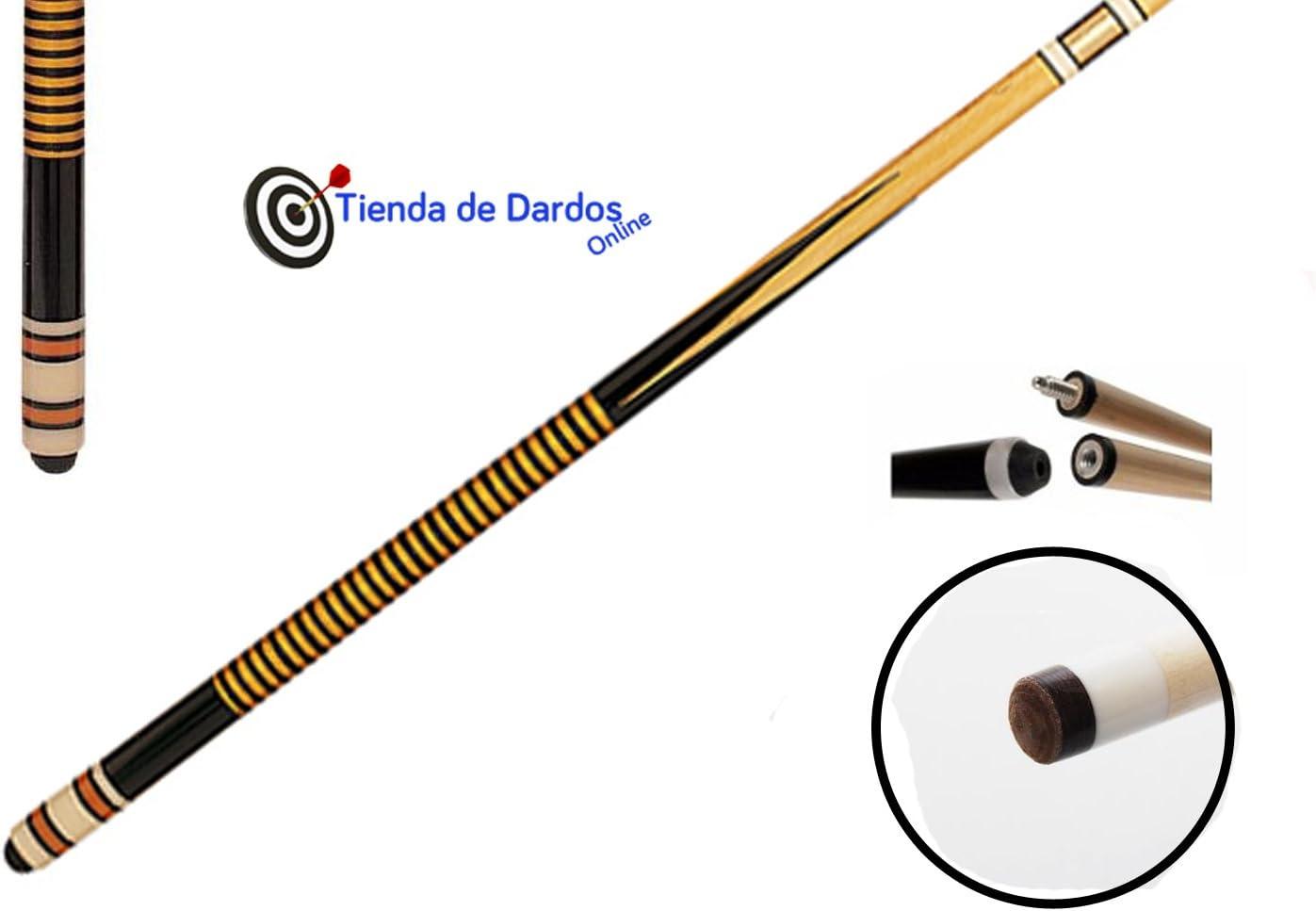 Taco de billar RAMIN 2pz 1,45m 12mm POOL: Amazon.es: Deportes y ...