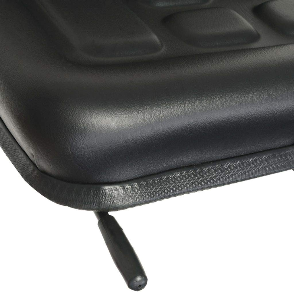 vidaXL Traktorsitz Universal Schwarz Schleppersitz Staplersitz Baggersitz