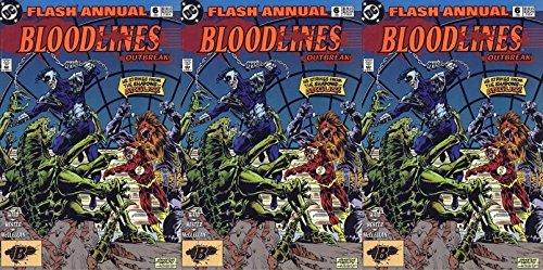 The Flash Annual #6 (1987-2009) Limited Series DC Comics - 3 Comics
