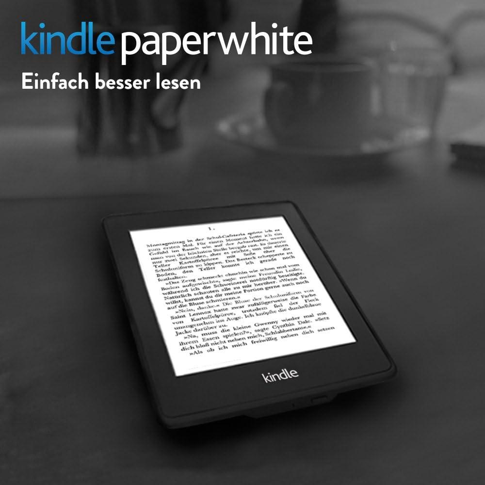 Kindle Paperwhite 6 Generation 15 Cm 6 Zoll Hochauflösendes Display 212 Ppi Mit Integrierter Beleuchtung Wlan Amazon Devices