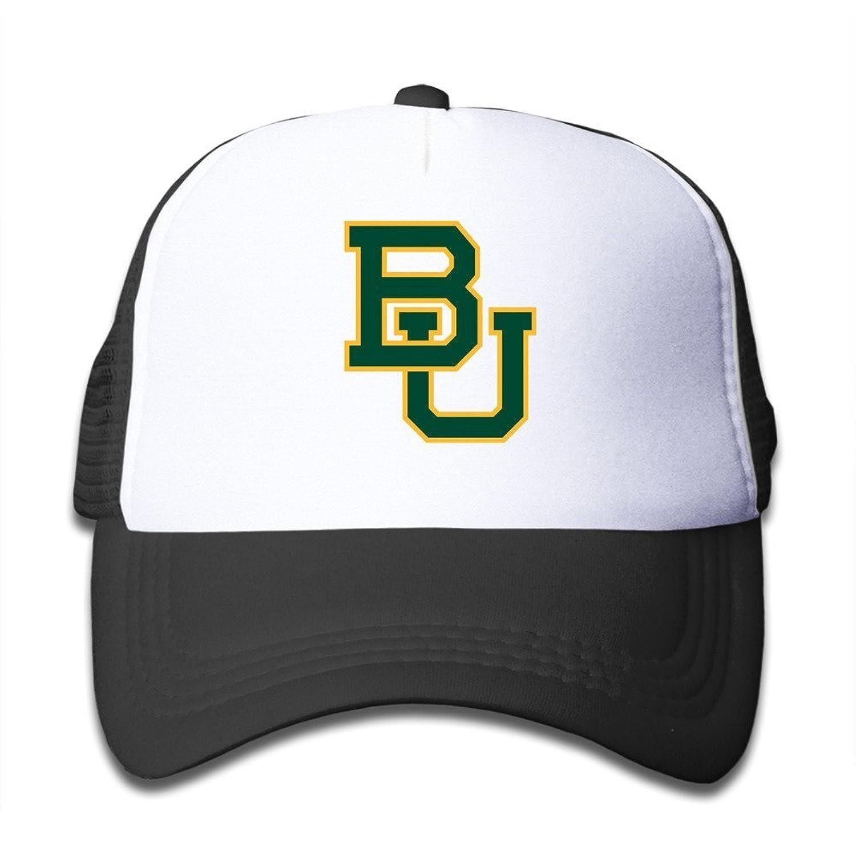 New Style Baylor Bear Mesh Hat For Kids Adjustable Baseball Cap ... 0f534724cd0