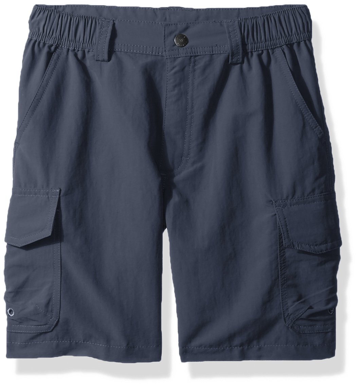 White Sierra Boy's Rocky Ridge Shorts, Vintage Indigo, Small by White Sierra