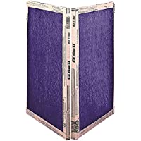 Flanders Ez Flow Ii Merv 4 Economy Fiberglass Air Filter, 20X21X1 In., 12 Per Case