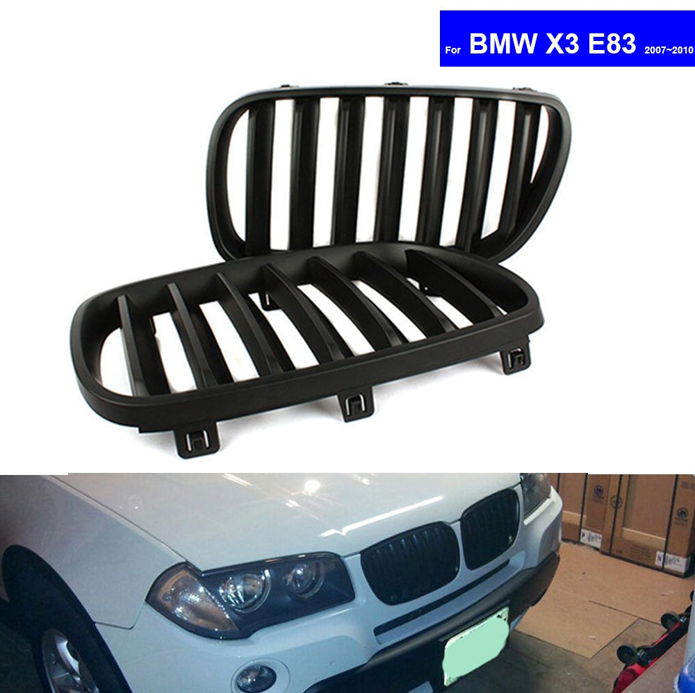Car Front Center Lower Bumper Grille Auto Racing Grills