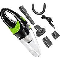 A-TION Wireless car vacuum cleaner, 6500 KPA Forte Cleaner Auto Vuoto di Potere Dc 12V 120W Cordless Umido E Secco a…