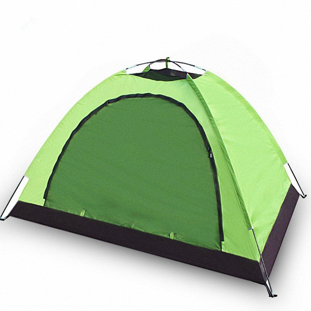 TLMY Ultraleichtes Einzelnes Zelt Im Freien Doppeltes Regendichtes Campingzelt Zelte