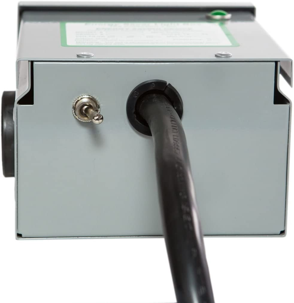 Home Mobile Surge Protector Residential Dryer Unit 4 Prong 1100 AMP Energy Saver Box KVAR