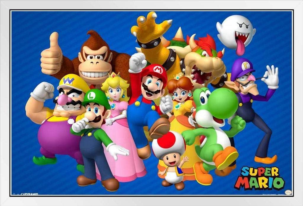Amazon Com Pyramid America Super Mario Bros Characters Nintendo