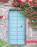 """Tuscan door and flowers: (Notebook/Journal) (118 x Lined Pages) (8"""" x 10""""): Volume 1 (Tuscany Villages Notebook Collection)"""