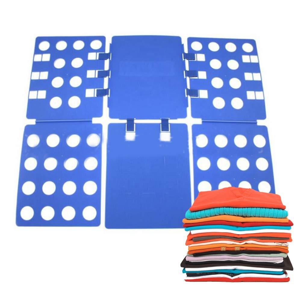 ixaer Clothes Folding Board Adjustable Magic Fast Folder Clothes T-Shirts Folding Board Lazy Folding Board Laundry Folder Organizer