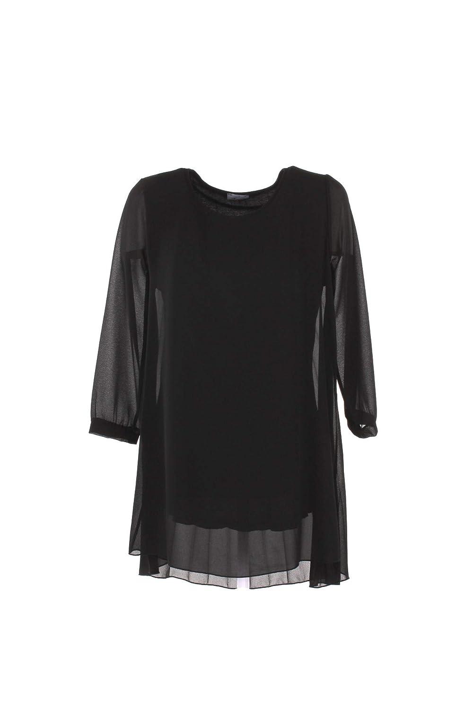 BERNA Camicia Donna S Nero Be-76086 Autunno Inverno 2018/19