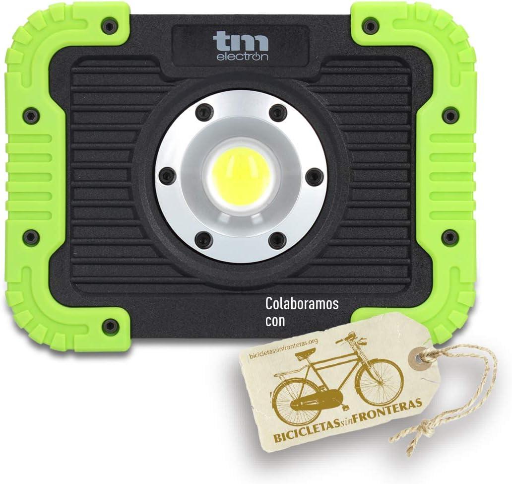 TM Electron TMTOR021 luz de Trabajo COB LED portátil súper Brillante de 10W y 450LM: Amazon.es: Bricolaje y herramientas
