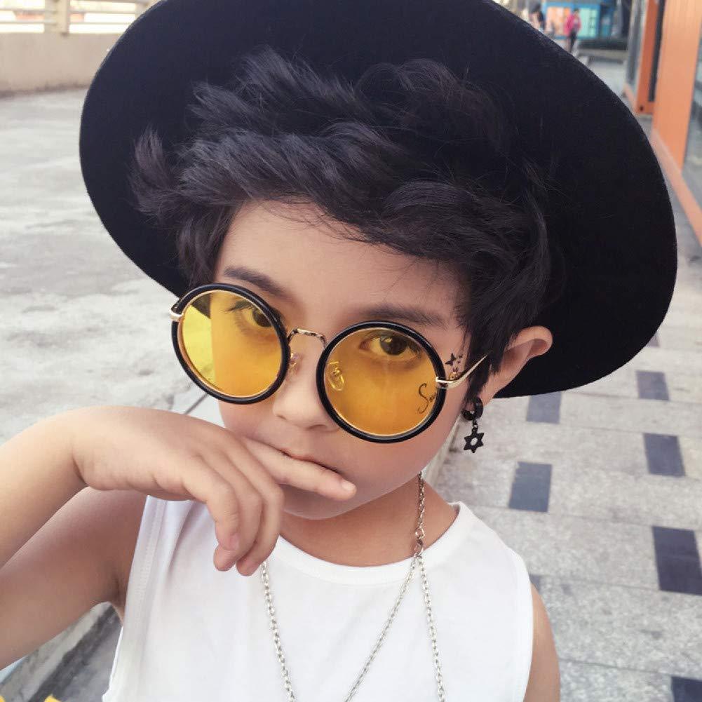 ZHENCHENYZ Gafas de Sol para niños Moda Retro Gafas para ...