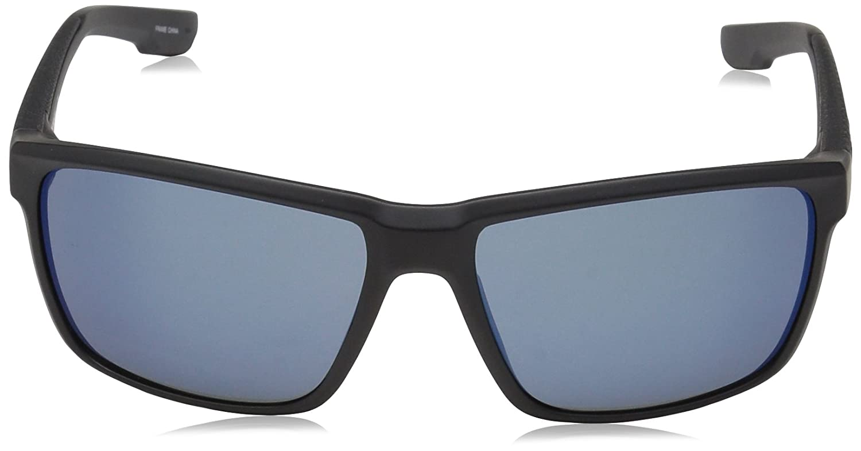 27a6bebeff2 Amazon.com  Columbia Men s Zonafied Rectangular Sunglasses Matte Black 58  mm  Clothing