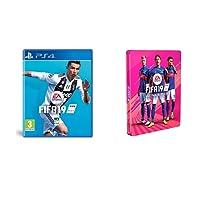 FIFA 19 (PS4) + Steelbook