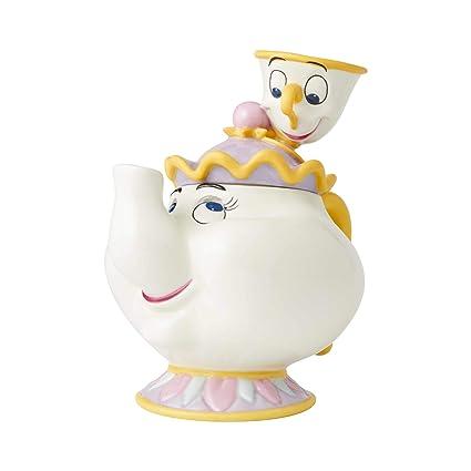Disney Cookie Jars Amazon Com >> Amazon Com Enesco 4061520 Disney Ceramics Beauty And The Beast Mrs