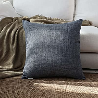 Kevin Textile Faux Linen Square Pillow Case
