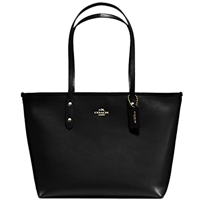 e360b9f6dc Amazon.com: SALE ! New Authentic COACH New York Tote, Elegant Shoulder Bag  in Beautiful Black Crossgrain Leather: Shoes