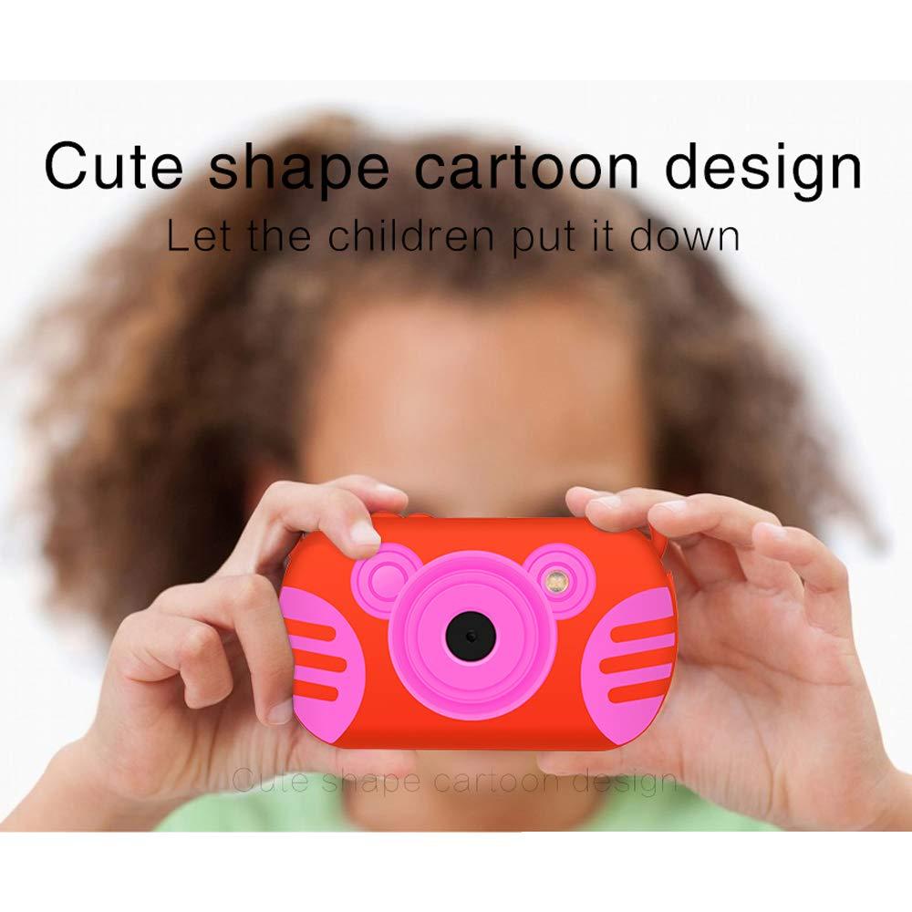 Underwater Camera for Kids, HD 1080P Waterproof Kids Camera, Video Recorder Action Preschool Camera, 8X Digital Zoom Camera with Flash & Microphone Sticker by GordVE (Image #6)