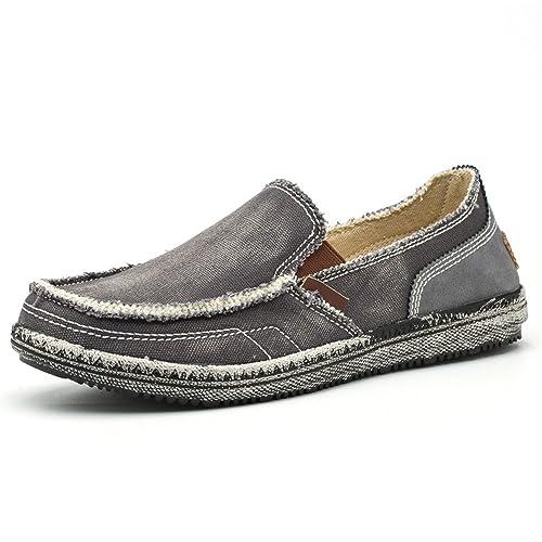 BEFAiR - Mocasines de Lona para Hombre: Amazon.es: Zapatos y complementos
