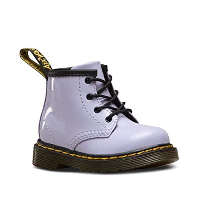 9adb612ebd10 Dr. Martens Kid's Collection Unisex 1460 Infant Brooklee B Boot (Toddler)  Purple Heather