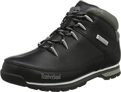 Timberland Euro Sprint Hiker Boots 6200R Black - 41,5: Amazon.es: Zapatos y complementos