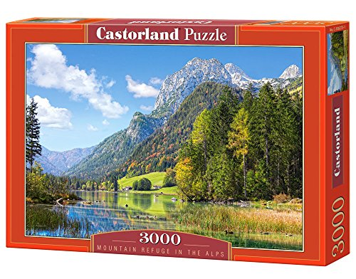 Castorland Mountain Refuge in The Alps Puzzle (3000 Piece)