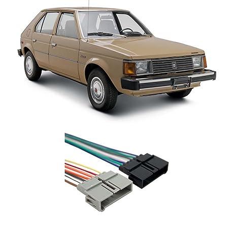 amazon com dodge omni 1984 1990 factory stereo to aftermarket radio rh amazon com 1970 Dodge Charger Wiring Harness Dodge Ramcharger Wiring Harness