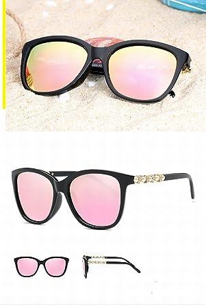 Gafas de Sol Polarizadas Moda Gafas de Sol de Gafas Grandes Gafas de Sol Y Gafas de Sol , Caja Negra Brillante Barbie en Polvo: Amazon.es: Deportes y aire ...