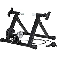 FDW Bike Trainer Stand Bicycle Trainers Road Bike Trainer for Indoor Riding Magnetic Bike Trainer with 5 Levels…