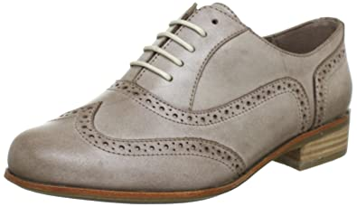 4cd1092497a9a Clarks Hamble Oak Lace-Ups Womens - Mushroom Leather (8 UK): Amazon ...