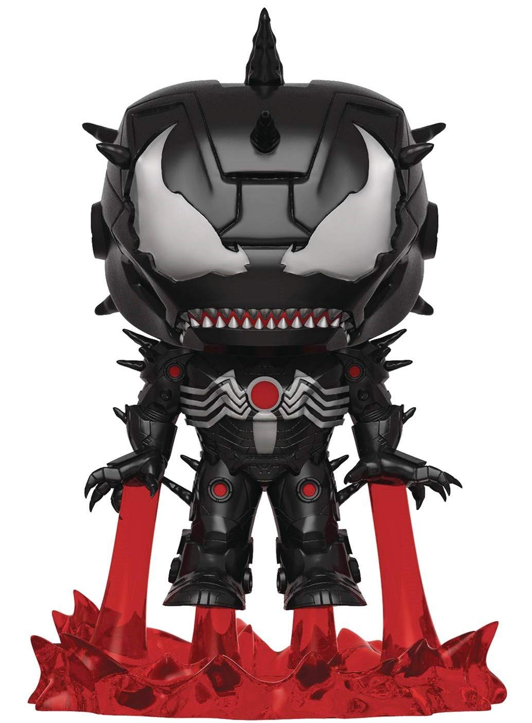Vinyl Figure Marvel: Venom Includes Compatible Pop Box Protector Case Venomized Iron Man Funko Pop