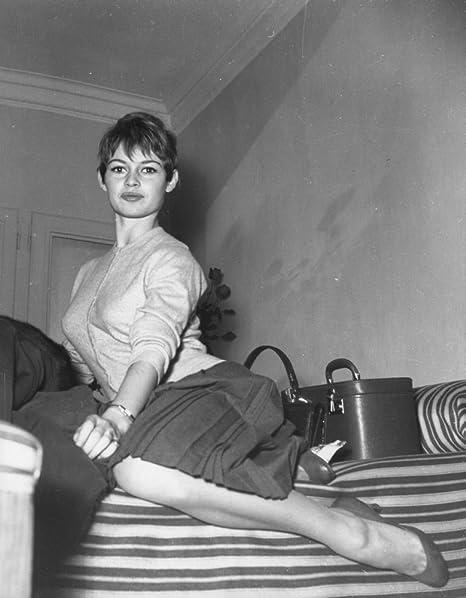 Amazoncom Brigitte Bardot In Rome Italy Photo Print 8 X